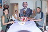 ABDÜLKADİR ÖZEREN - Çanakkale Belediye Başkan Yardımcısı Rebiye Ünüvar Lapseki'de