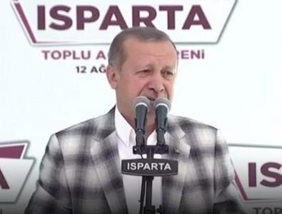 Cumhurbaşkanı Erdoğan'dan 'Şişli' göndermesi