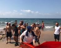 BOZKÖY - Denizde Fenalaşınca Yardımına Sahil Güvenlik Yetişti