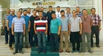 KıRKA - Eti Maden Kırka Bor İşletme Müdürü Ayten'e Çalışanlardan Anlamlı Kutlama