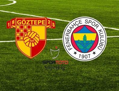 Göztepe - Fenerbahçe maçında gol yağmuru