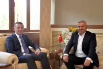 TİCARET ODASI - Körfez Belediye Başkanı Baran'dan Vali Büyükakın'a Ziyaret