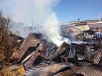 Malatya'da Depo Yangını