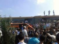 İSKENDERIYE - Mısır'daki Tren Kazasında Ölü Sayısı 50'Ye Yükseldi