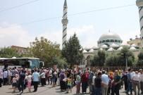 Osmaniye'de İkinci Kafile Hacı Adayları Kutsal Topraklara Uğurlandı