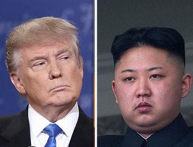 Trump Kuzey Kore'yi yine tehdit etti