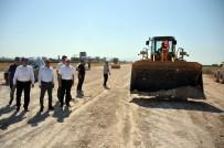 ŞEHİR İÇİ - Vali Merak, Çevre Yolu Çalışmalarını İnceledi