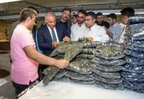 İŞADAMLARI - Vali Zorluoğlu Tekstil Kentte
