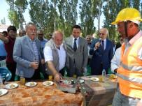 MEMİŞ İNAN - 15 Temmuz Şehidi Adına Yapılacak Caminin Temeli Atıldı