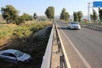 Aydın'da Otomobil Köprüden Uçtu Açıklaması 4 Yaralı