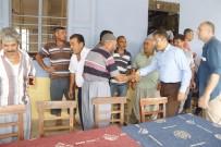 ESENLI - Başkan Pamuk Mahalle Ziyaretlerini Sürdürüyor