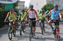 YARIŞ - Gaziosmanpaşa'da Sağlık İçin 15 Kilometre Bisiklet Sürüldü