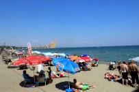 KUMBAĞ - Hafta Sonu Tatili Plajları Dolup Taşırdı