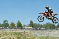 İSMAİL ÖZKAN - Hayrabolu Ayçiçeği Festivali'nde Motokros Yarışları Yapıldı