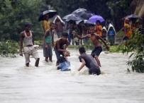 NEPAL - Nepal'i Muson Yağmurları Vurdu Açıklaması 49 Ölü