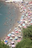 FILYOS - Zonguldak'ta Vatandaşlar Sahillere Akın Etti