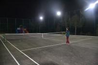 YAYLA TURİZMİ - Avgadı Yaylasında Tenis Keyfi