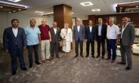 YAŞANABİLİR KENT - Başkan Karaosmanoğlu, Başkan Toltar'ı Ağırladı