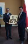 MİLLETVEKİLLİĞİ - Başkan Süleyman Özkan'dan Kinay'a 'Hayırlı Olsun' Ziyareti