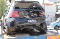 İSMET İNÖNÜ - Başkent'te Zincirleme Kaza Açıklaması 3 Yaralı