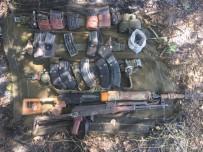KESKİN NİŞANCI - Bingöl'de Keskin Nişancı Tüfeği Ve El Bombaları Ele Geçirildi