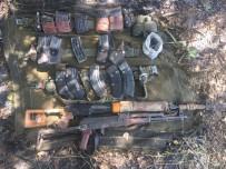KESKİN NİŞANCI - Bingöl'de Terör Operasyonunda Keskin Nişancı Tüfeği Ve El Bombaları Ele Geçirildi