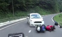 DOĞU KARADENIZ - Dönüş Yapmak İsteyen Araç Motosiklete Çarptı