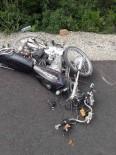 Hatay'da Motosiklet Kazası Açıklaması 1 Ölü, 1 Yaralı