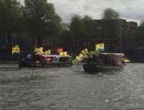 ABDULLAH ÖCALAN - Hollanda'da PKK'nın tekne turu