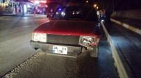 İki Otomobil Çarpıştı Açıklaması 1 Yaralı