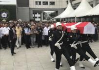 İSTANBUL EMNİYETİ - İstanbul'da DEAŞ'lı Teröristin Saldırısında Şehit Düşen Polis İçin Veda Töreni