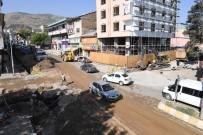 FEYAT ASYA - İstasyon Caddesi'ne Geçici Asfalt