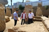 GÜLCEMAL FIDAN - Kartal'da Marmaray Kazısında Tarihi Mezar Kalıntıları Bulundu