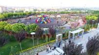 KELEBEKLER VADİSİ - Kelebekler Vadisi Parkı Hafta Sonu Binlerce Misafiri Ağırladı