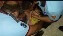 TANDOĞAN - Mazgala Sıkışan Çocuğu İtfaiye Kurtardı