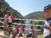 BİSİKLET TURU - Nazillili Bisikletlilerden Kamplı Bisiklet Turu
