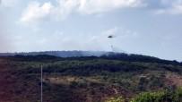 MARMARACıK - Sarıyer'de orman yangını, 15 dönüm alan zarar gördü