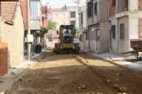 Turgutlu'da 4 Sokakta Yenileme Çalışması