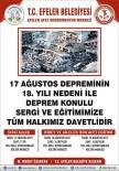 17 Ağustos'un Yıl Dönümünde Efeler Halkı Bilinçlendirilecek