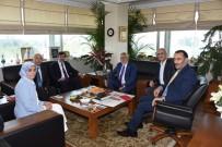 ESNAF VE SANATKARLARı KONFEDERASYONU - AK Parti Genel Başkan Yardımcısı Cevdet Yılmaz'dan TESK'e Ziyaret