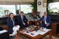 BENDEVI PALANDÖKEN - Başdenetçi Malkoç'dan Palandöken'e Ziyaret