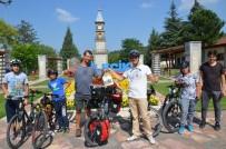 TARİHİ SAAT KULESİ - Bilecik, Bisikletli Konuklarını Ağırlamaya Devam Ediyor