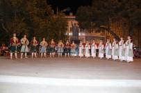 Burhaniye'de Halk Oyunları Şenliği İlgi Gördü