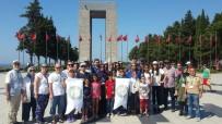 İBRAHIM KARAOSMANOĞLU - Çölyak Hastaları Çanakkale Şehitliği'ni Ziyaret Etti