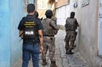 ŞAFAK OPERASYONU - Diyarbakır'da 300 Polisle Hava Destekli Şafak Operasyonu