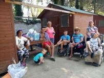 Engelliler Derneği Üyeleri Yaz Kampında