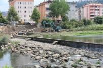 BOLAMAN - Fatsa Elekçi Irmağı Yatağı Temizleniyor