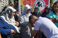 CAMİİ - Hacı Adayları Mukaddes Topraklara Uğurlandı