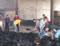 HÜSEYIN CAN - Fabrikada yangın dehşeti... İşçiler kazma-kürek patronlarını arıyorlar
