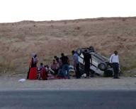 Malatya'da Minibüs Devrildi Açıklaması 13 Yaralı